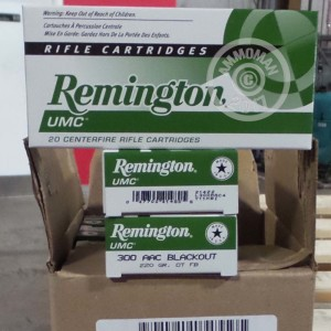 Picture of 300 AAC BLACKOUT REMINGTON UMC 220 GRAIN OTFB (20 ROUNDS)