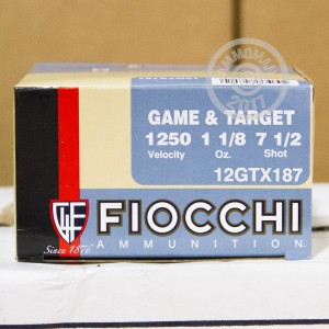 "Picture of 12 GAUGE FIOCCHI GAME LOADS 2-3/4"" #7.5 SHOT (250 SHELLS)"