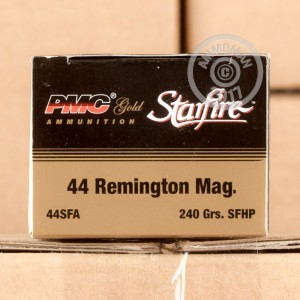 Picture of 44 MAGNUM PMC STARFIRE 240 GRAIN JHP (20 ROUNDS)