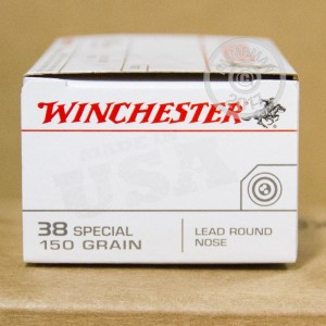 Picture of 38 SPECIAL WINCHESTER 150 GRAIN LRN (500 ROUNDS)