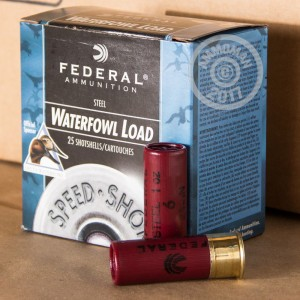 "Picture of 12 GAUGE FEDERAL STEEL SHOT WATERFOWL 2-3/4"" #6 SHOT (250 ROUNDS)"