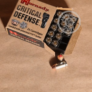 Picture of 9MM MAKAROV HORNADY CRITICAL DEFENSE 95 GRAIN JHP (25 ROUNDS)