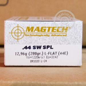 Picture of .44 SPECIAL MAGTECH 200 GRAIN LRN (50 ROUNDS)