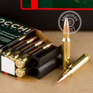 An image of bulk 308 / 7.62x51 ammo made by Fiocchi at AmmoMan.com.