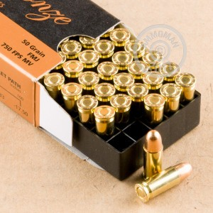 A photo of a box of PMC ammo in .25 ACP.