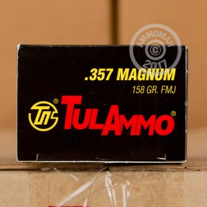 Picture of 357 MAGNUM TULA 158 GRAIN FMJ (1000 ROUNDS)