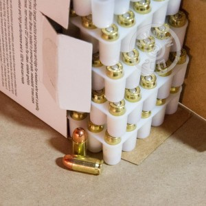 Picture of .380 ACP BLAZER BRASS VALUE PACK 95 GRAIN FMJ (250 ROUNDS)
