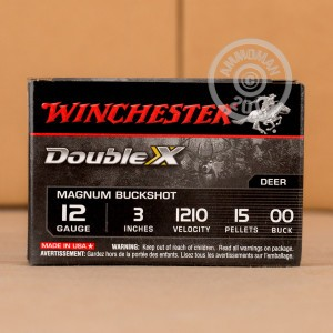 "Picture of 12 GAUGE WINCHESTER DOUBLE X 3"" #00 BUCK SHOT (5 ROUNDS)"