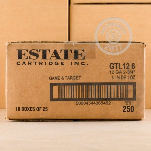 "Picture of 12 GAUGE ESTATE CARTRIDGE GAME AND TARGET 2-3/4"" 1 OZ. #6 SHOT (25 ROUNDS)"