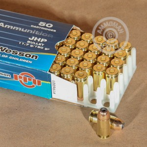Picture of .40 S&W PRVI PARTISAN 180 GRAIN JACKETED HOLLOW POINT (500 ROUNDS)