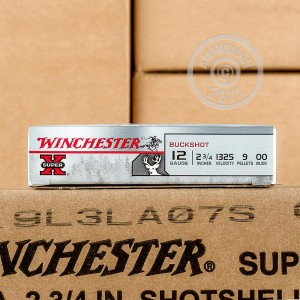 "Picture of 12 GAUGE WINCHESTER SUPER-X 2-3/4"" 00 BUCK (5 ROUNDS)"