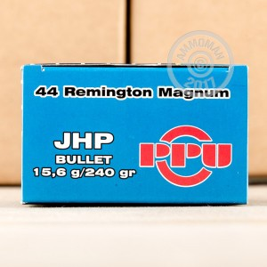 Picture of 44 MAGNUM PRVI PARTIZAN 240 GRAIN JHP (500 ROUNDS)