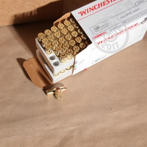 Picture of 38 SPECIAL WINCHESTER 130 GRAIN FMJ (100 ROUNDS)