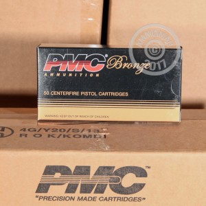 Picture of 40 S&W PMC 165 GRAIN JHP (50 ROUNDS)