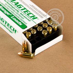 Picture of 9MM LUGER MAGTECH CLEAN RANGE 115 GRAIN TMJ (50 ROUNDS)