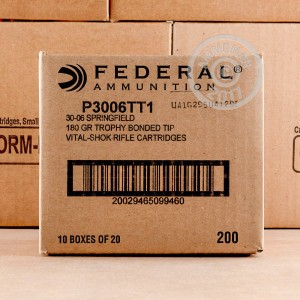 Picture of 30-06 SPRINGFIELD FEDERAL VITAL-SHOK 180 GRAIN TROPHY BONDED TIP (20 ROUNDS)