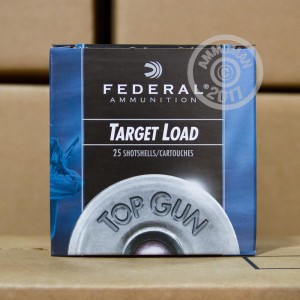"""Picture of 12 GAUGE 2 3/4"""" FEDERAL TOP GUN 1 1/8 OZ #7.5 LEAD SHOT (250 ROUNDS)"""