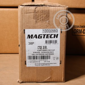 Picture of 38 SPECIAL MAGTECH 158 GRAIN FMJ (1000 ROUNDS)