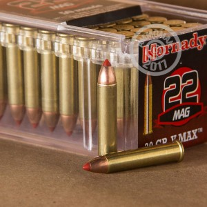 Picture of 22 WMR HORNADY V-MAX 30 GRAIN JHP (50 ROUNDS)
