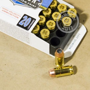 Picture of 45 ACP +P CORBON 185 GRAIN SELF-DEFENSE JHP (20 ROUNDS)