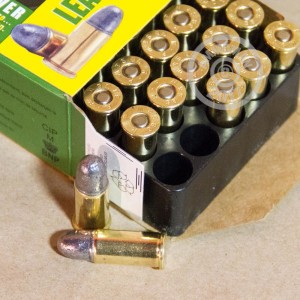 Picture of 38 S&W REMINGTON TARGET 146 GRAIN LRN (50 ROUNDS)