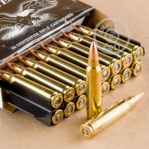 Picture of 223 REMINGTON FEDERAL AMERICAN EAGLE 55 GRAIN FMJ 20 ROUNDS
