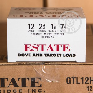 "Picture of 12 GAUGE ESTATE DOVE AND TARGET LOAD 2-3/4"" #7.5 SHOT (25 ROUNDS)"