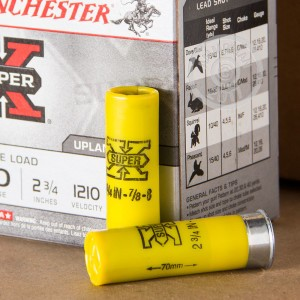 "Picture of 20 GAUGE WINCHESTER SUPER X  2-3/4"" #8 SHOT (25 ROUNDS)"
