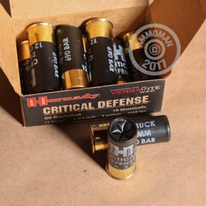 "Picture of 12 GAUGE HORNADY CRITICAL DEFENSE 2-3/4"" 00 BUCKSHOT (100 ROUNDS)"