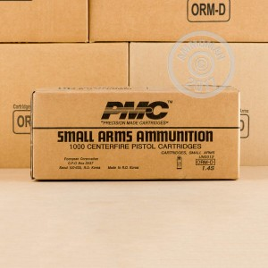 Picture of .380 ACP PMC 90 GRAIN Full Metal Jacket #380A (1000 ROUNDS)