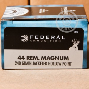Picture of 44 MAGNUM FEDERAL POWER-SHOK 240 GRAIN JHP (20 ROUNDS)