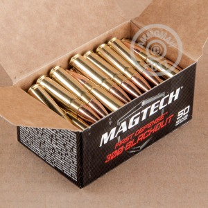 Picture of 300 AAC BLACKOUT MAGTECH FIRST DEFENSE 123 GRAIN FMJ (500 ROUNDS)