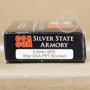 Picture of 6.8 REMINGTON SPC SILVER STATE ARMORY 90 GRAIN PPT (20 ROUNDS)