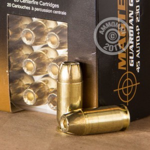 Picture of .45 ACP MAGTECH GUARDIAN GOLD 230 GRAIN JHP (20 ROUNDS)