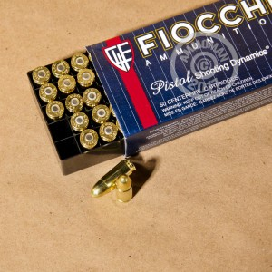 Picture of 9MM FIOCCHI AMMO 124 GRAIN FMJ (1000 ROUNDS)