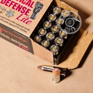 Picture of 38 SPECIAL HORNADY CRITICAL DEFENSE LITE 90 GRAIN FTX (25 ROUNDS)