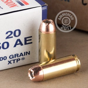 Picture of 50 AE ARMSCOR 300 GRAIN XTP (400 ROUNDS)