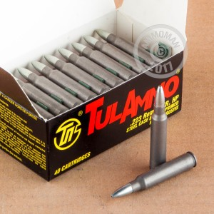 Picture of 223 REMINGTON TULA 55 GRAIN HP (1000 ROUNDS)