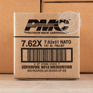 Picture of 7.62X51 PMC X-TAC 147 GRAIN FMJ-BT (20 ROUNDS)