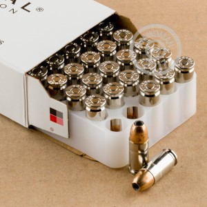 Picture of 9MM LUGER FEDERAL HI-SHOK +P+ 115 GRAIN JHP (50 ROUNDS)
