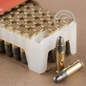 Picture of 22 LR FEDERAL GOLD MEDAL HIGH VELOCITY MATCH 40 GRAIN SOLID POINT (500 ROUNDS)