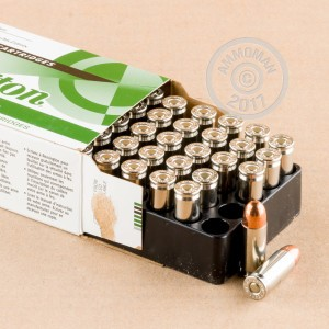 A photo of a box of Remington ammo in 38 Super.