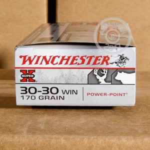 Picture of 30-30 WINCHESTER SUPER-X 170 GRAIN PP (20 ROUNDS)