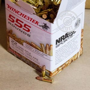 Picture of 22 LR WINCHESTER 36 GRAIN CPHP (555 Rounds)