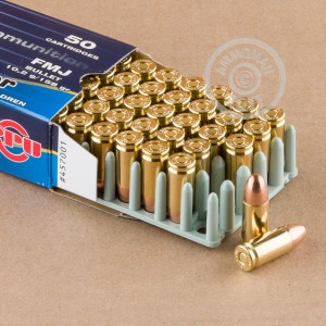 An image of 9mm Luger ammo made by Prvi Partizan at AmmoMan.com.