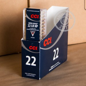 Picture of 22 LR CCI MINI-MAG 36 GRAIN CPHP (100 ROUNDS)