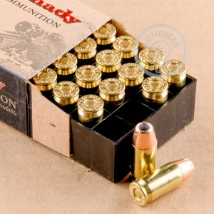 Picture of 45 ACP HORNADY XTP 230 GRAIN +P JACKETED HOLLOW POINT (20 ROUNDS)