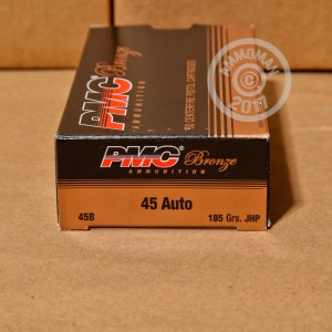 Picture of 45 ACP PMC 185 GRAIN JHP (50 ROUNDS)