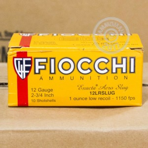 "Picture of 12 GAUGE FIOCCHI EXACTA AERO 2 3/4"" 1 OZ SLUG (10 ROUNDS)"