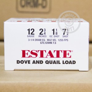 "Picture of 12 GAUGE ESTATE DOVE AND QUAIL 2-3/4"" #7.5 SHOT (250 SHELLS)"